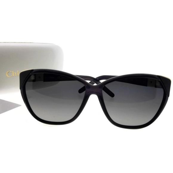 3e06ff84e5d CE600S-065-60 Cat Eye Women Purple Sunglasses NWT. NWT. Chloe